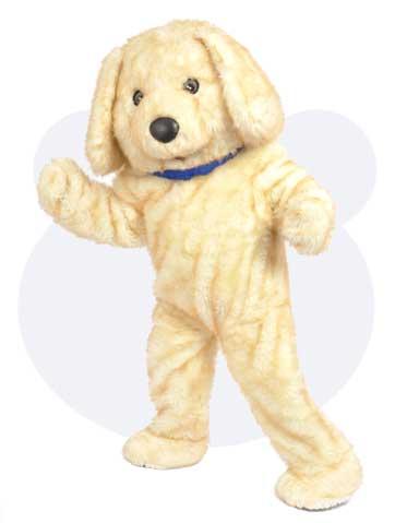 Honden mascotte - Snuffel de hond mascotte pak huren