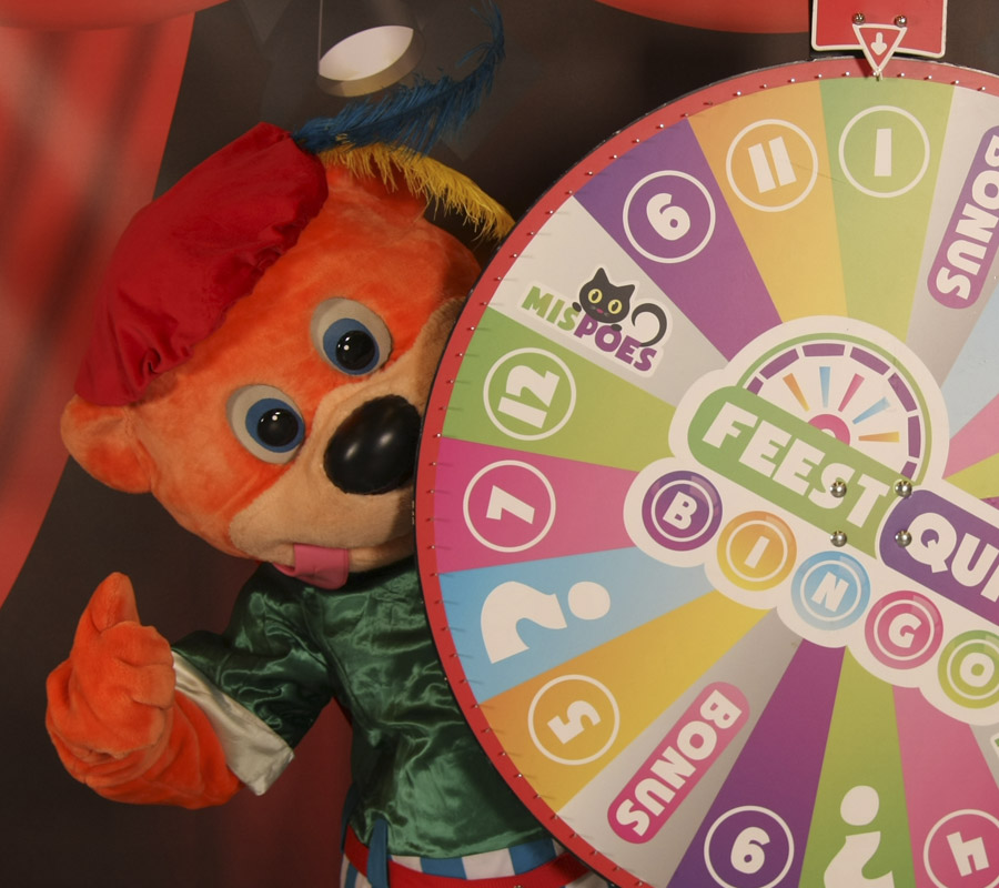 Sinterklaas show, kindershow met binkie de beer