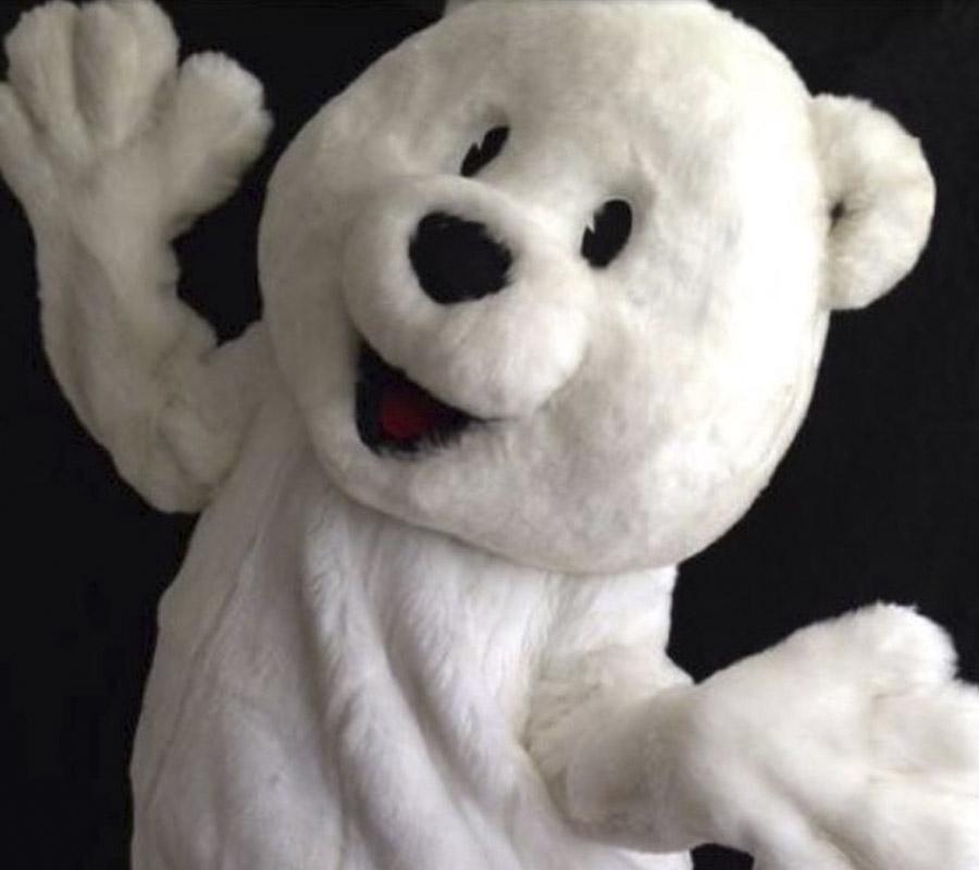 ijsbeer mascotte