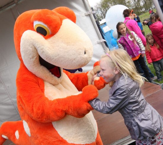 BEM Entertainment - mascotte promotie in winkelcentra