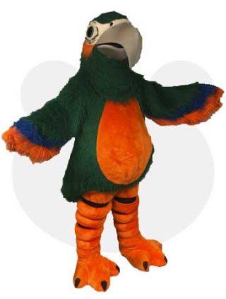 Papegaai mascotte pak - Paula de papegaai