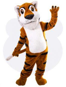 Tijger mascotte - Toby de tijger mascotte pak huren
